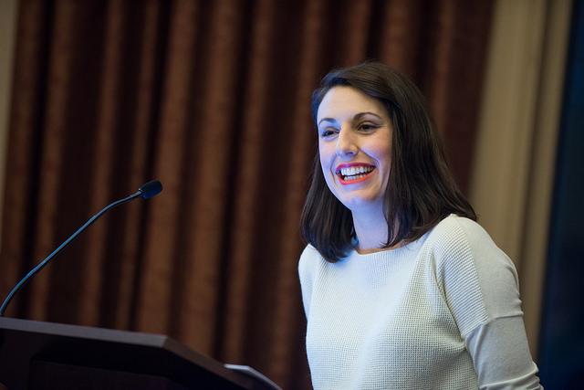 Jessica Valenti at Roanoke College.