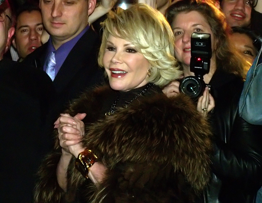 Joan Rivers in 2010. She died in early September.