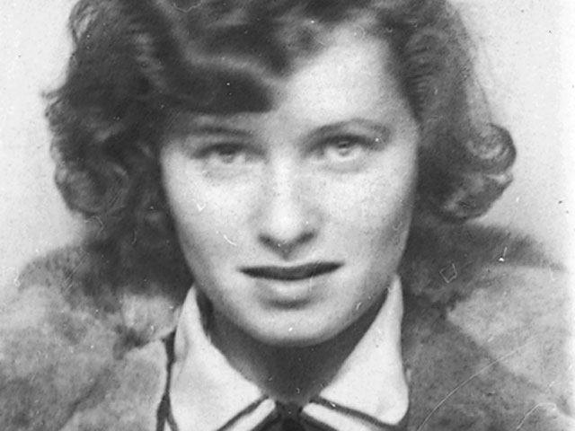 Valerie Scheftel, the girl that Sarah Wildman's grandfather left behind in Vienna.