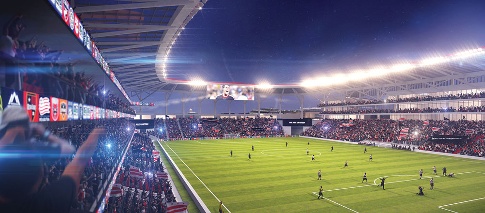 D.C. United's new stadium might not happen unless the city exercises eminent domain for some of the land.