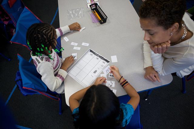 A bilingual classroom in Washington, D.C.