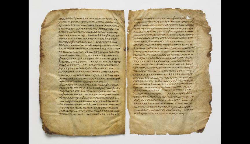 Washington Manuscript III – The Four Gospels (Codex Washingtonensis)