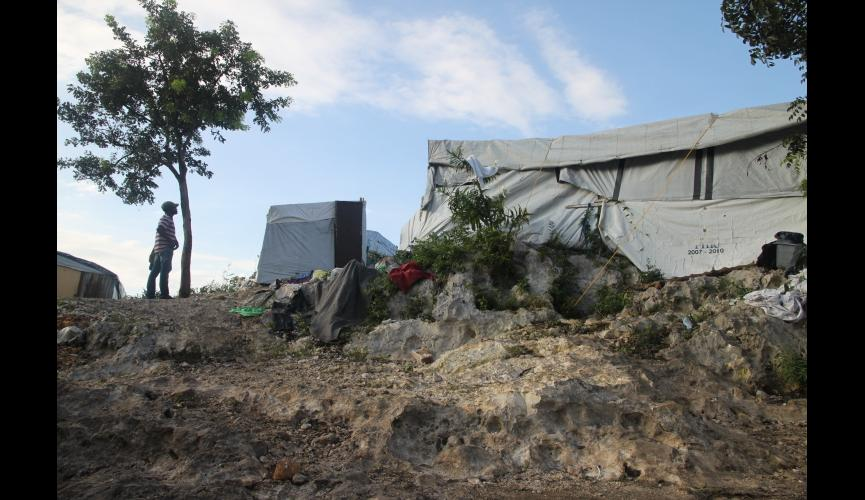 Haitian Tent Camp