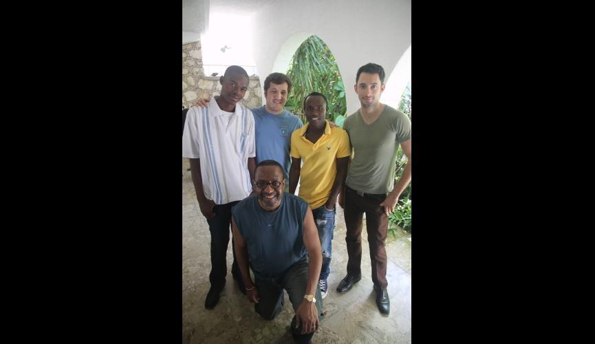 The Kojo team in Haiti