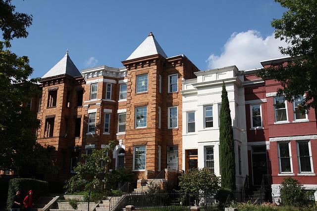 Apartments on Kenyon Street NW in Washington, D.C.