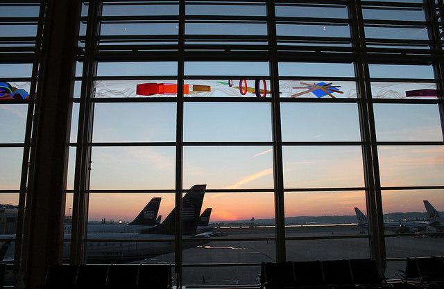 Ronald Reagan Washington National Airport in Arlington, Virginia