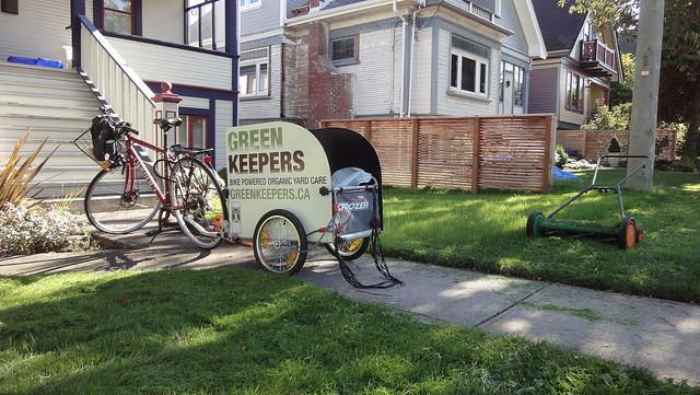 A Canadian organic yard care company