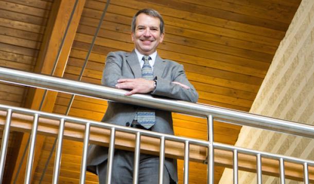 Appalachian Laboratory director Eric Davidson