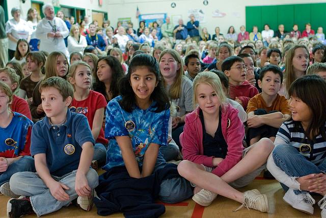 School children in Centreville, VA.