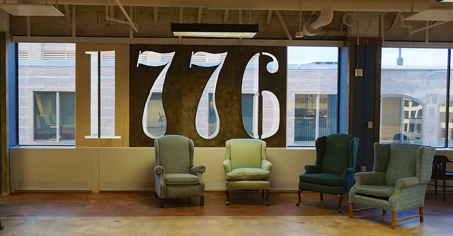 Inside 1776, a global startup incubator based in Washington, DC.