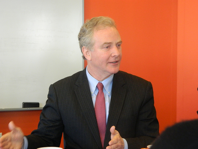 Rep. Chris Van Hollen at a 'Inside Politics' event in March 2013.