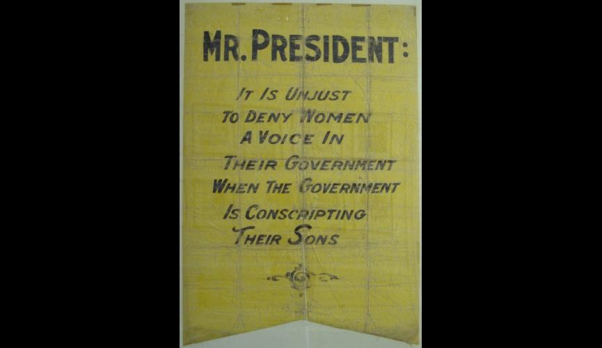 Conscription Banner 1917