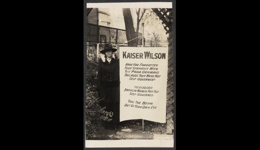 Kaiser Wilson banner 1917