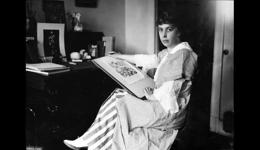 Nina Evans Allender Circa 1915