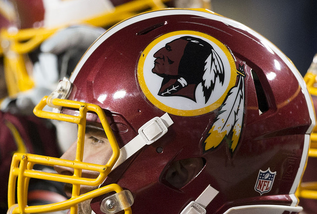 The Washington Redskins face off the New York Giants in fall 2014.