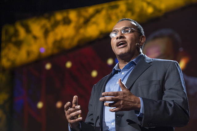 Freeman Hrabowski speaks at TED2013 in Long Beach, Ca.