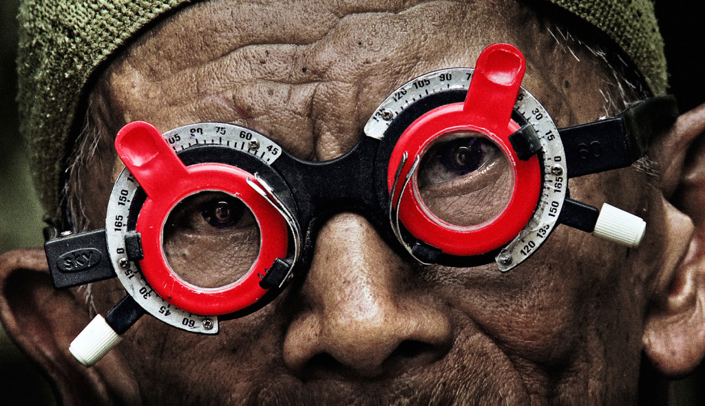 """A still from Joshua Oppenheimer's new film """"The Look Of Silence."""""""