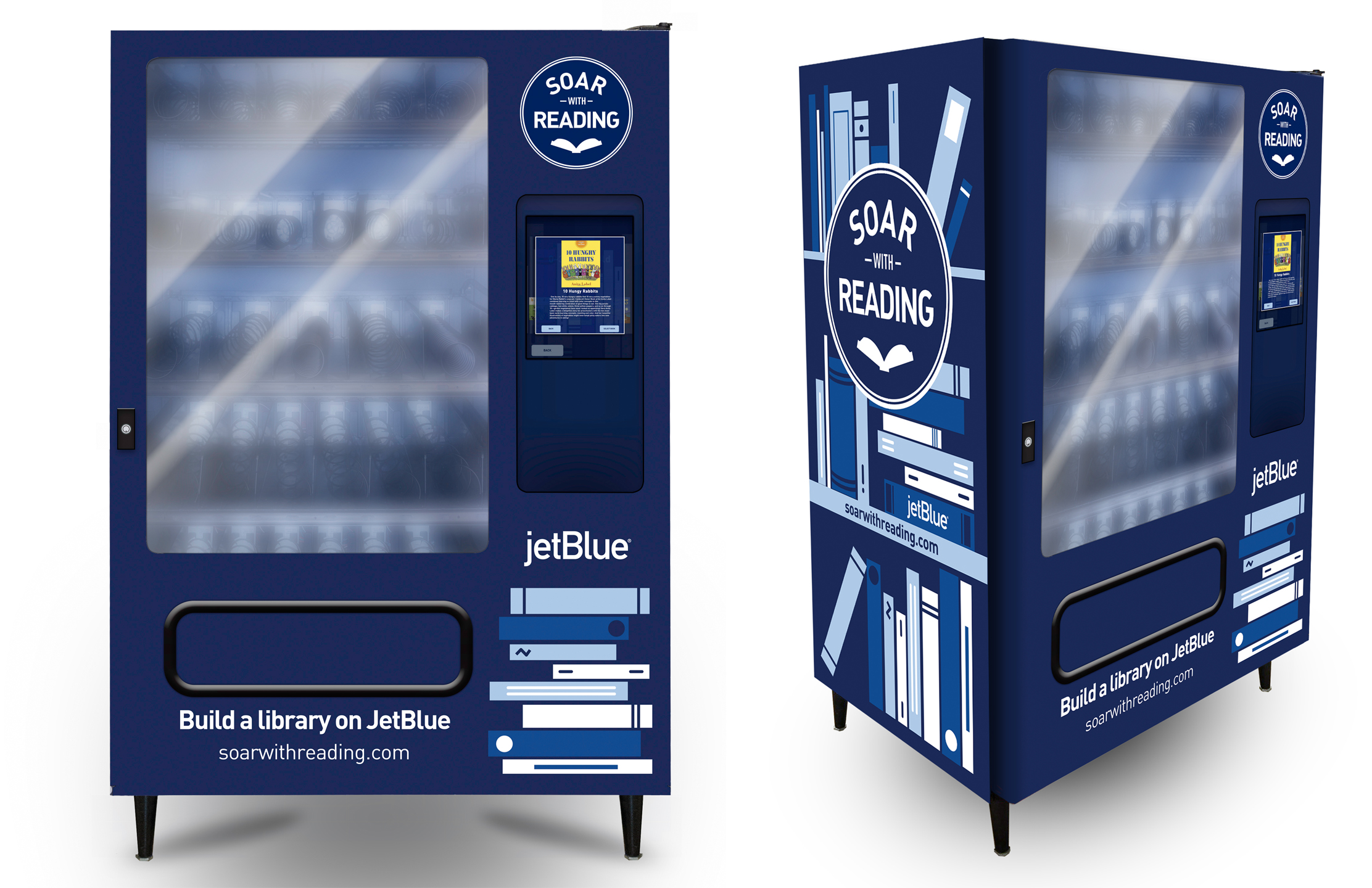 Airline Sets Up Free Book Vending Machines In Southeast D.C. - The ...