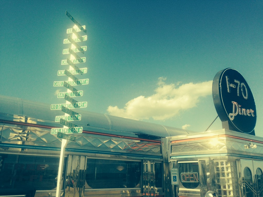 The I-70 Diner in Flagler, Co.