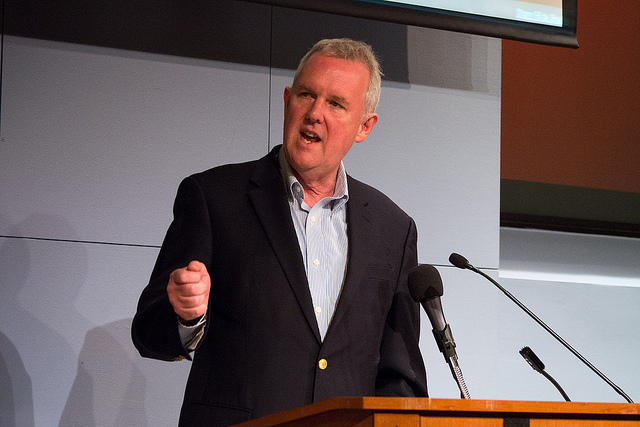 Tommy Wells as a council member in 2013.