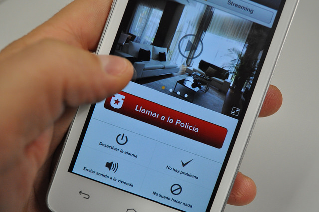 An app for home security on-the-go.