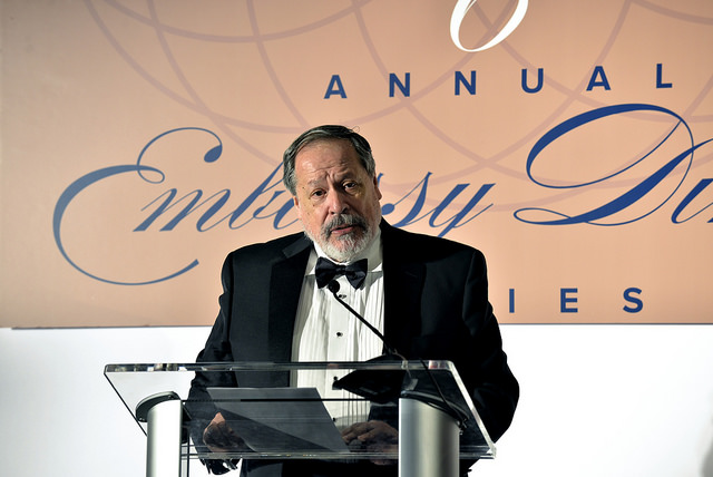 Francisco Altschul, ambassador of El Salvador to the United States.