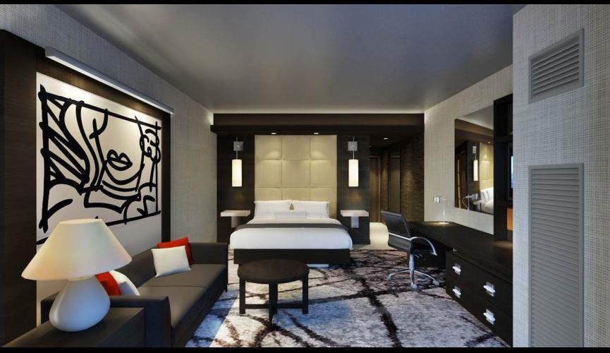 Hotel interior rendering 2