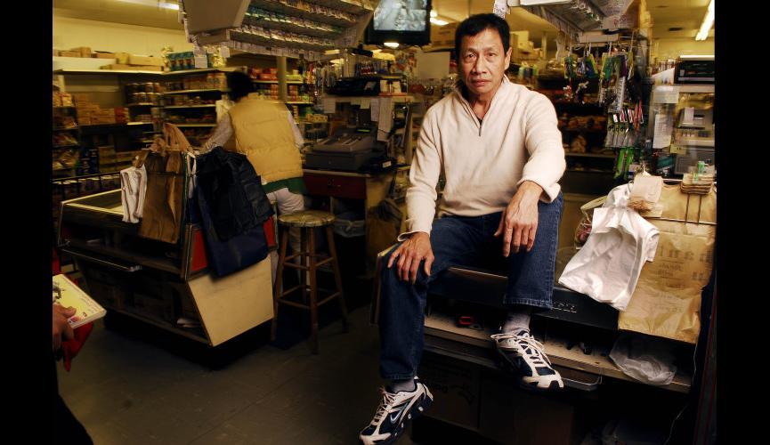 Oriental Supermarket repro