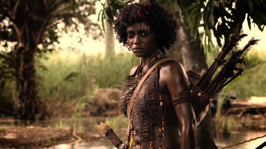 """A scene in """"Njinga, Queen Of Angola,"""" a film screening at the African Diaspora International Film Festival."""