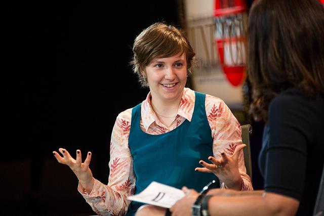 """""""Girls"""" creator, director, writer and actress Lena Dunham."""