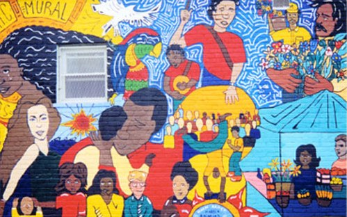 The Columbia Heights Community Mural