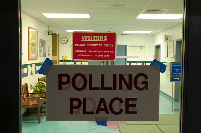 A Virginia polling place.