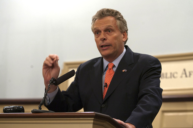 Terry McAuliffe in 2011.