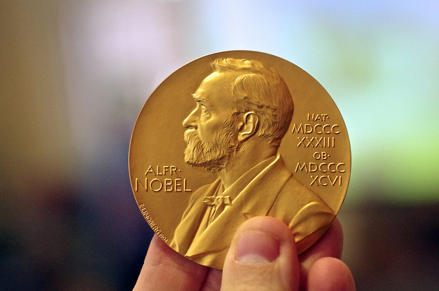 The Nobel Prize for Chemistry looks a lot like the Nobel Prize for literature.
