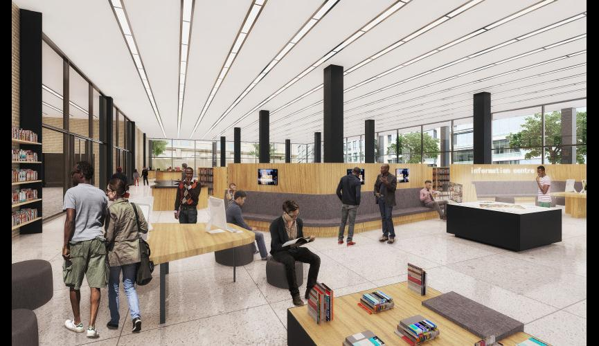 Martin Luther King Jr Memorial Library Schematic Design 17