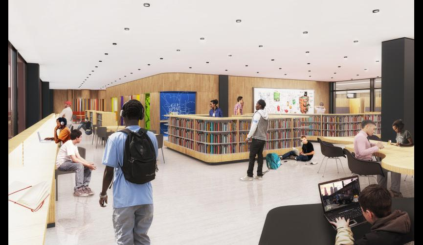 Martin Luther King Jr Memorial Library Schematic Design 22