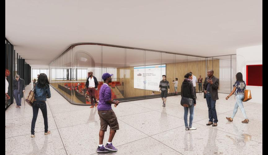 Martin Luther King Jr Memorial Library Schematic Design 24