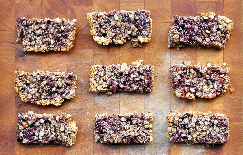 PBJ granola bars