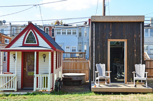 Washington D.C.'s first tiny house village showcases a new model of urban living.