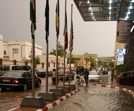 The Radisson Hotel in Mali's capital, Bamako, in 2006.