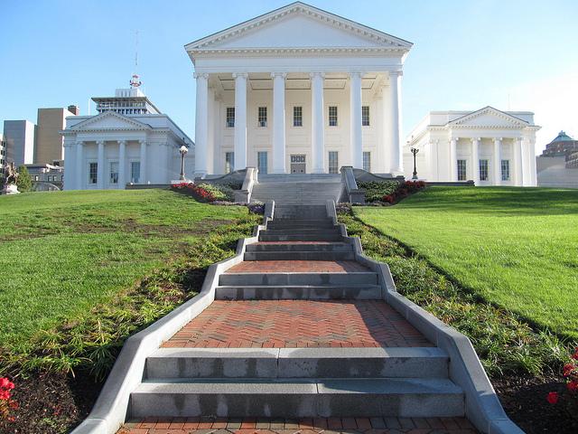 The Virginia State Capitol in Richmond, Va.