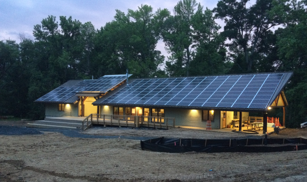 "The Alice Ferguson Foundation's ""Living Building"" in Accokeek, Md."