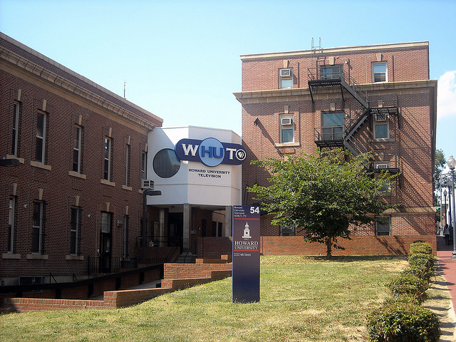 Howard University's WHUT-TV station at 2222 4th St. NW.