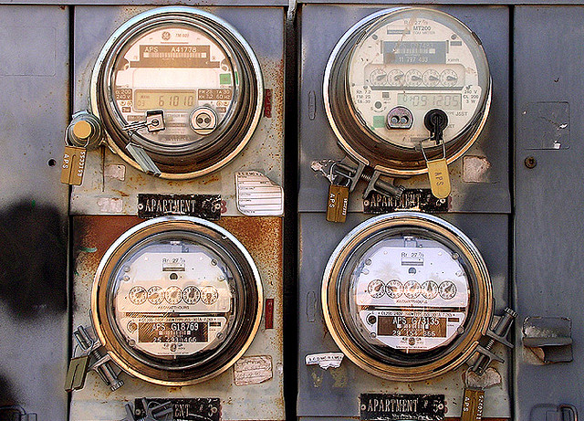 Electricity utility meter