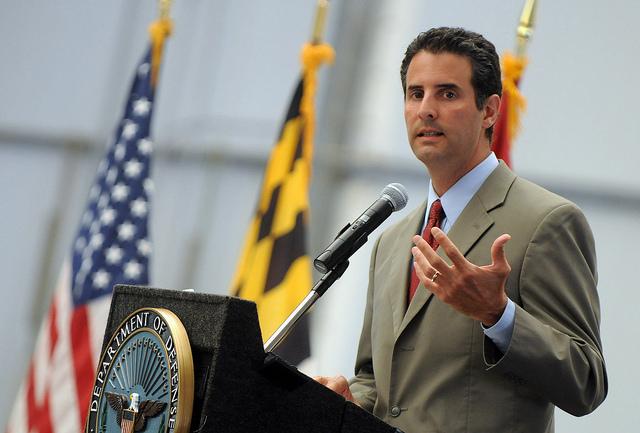 U.S. Congressman John Sarbanes in 2011.