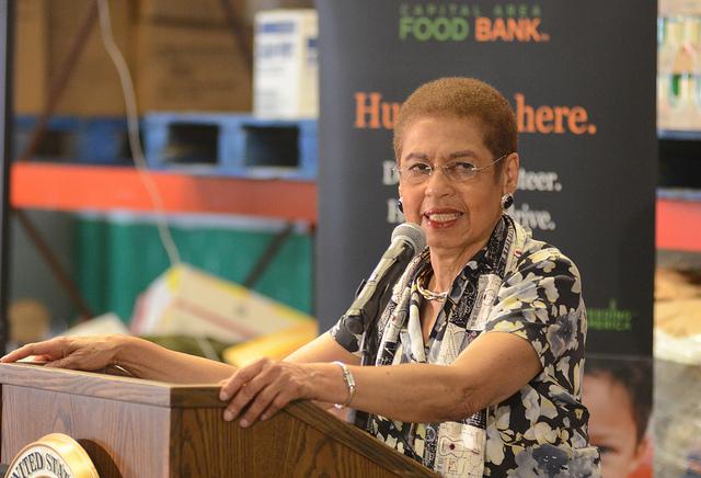 Congresswoman Eleanor Holmes Norton in 2012.