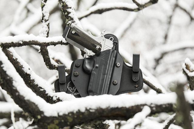 A gun holster
