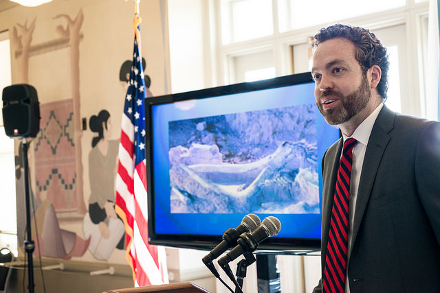 U.S Department of the Interior's Bureau of Land Management Director Neil Kornze.