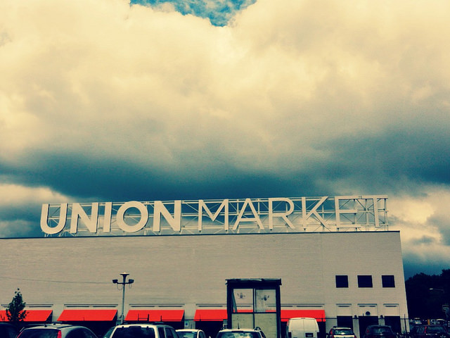 Union Market in Northeast, D.C.