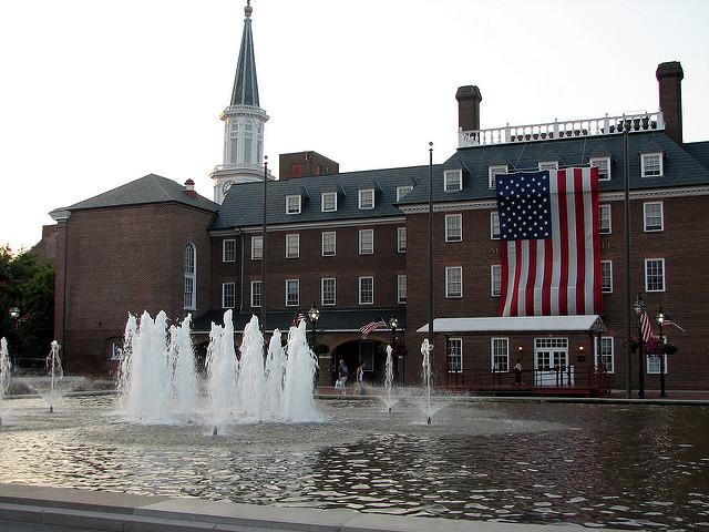 Alexandria, Va.'s town hall.